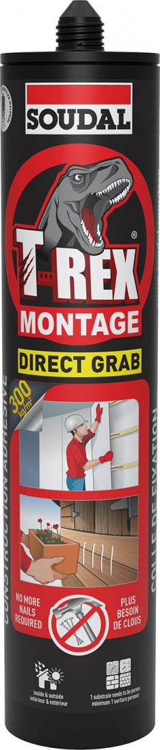 T REX MONTAGE DIRECT GRAB – SOLVENT FREE